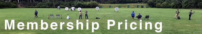 Membership Pricing Archery Australia